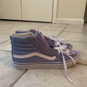 NWT Blue Van High Top Sneakers